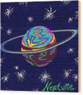 Neptune Ss Wood Print