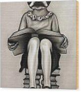 Nerd Wood Print
