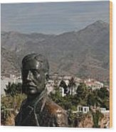 Nerja View Wood Print