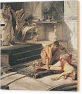 Nero And Agrippina Wood Print