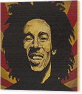 Nesta Robert Marley  Wood Print