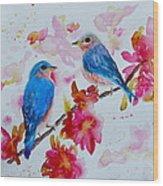 Nesting Pair Wood Print