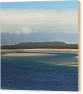 Netarts Bay Wood Print by Mamie Gunning