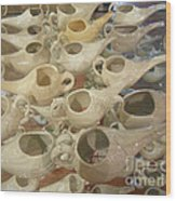 Nettie Pots Wood Print