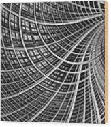 Network II Wood Print
