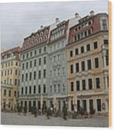 Neumarkt - Dresden - Germany Wood Print