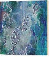 Neuronal Lunar Essence Wood Print
