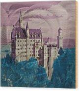 Neuschwanstein Castle  Wood Print by Metal Art Studio