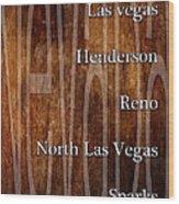 Nevada Wood Print