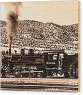 Nevada Northern Railway Wood Print by Robert Bales
