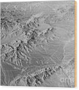 Nevada Skyview Wood Print