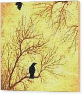 Nevermore Wood Print