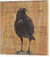 Nevermore I  Wood Print