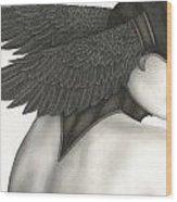 Nevermore Wood Print