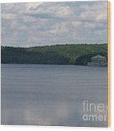 Neversink Reservoir Wood Print