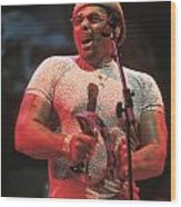 Neville Brothers Wood Print