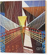 New Age Performing Arts Center Wood Print