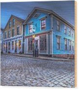 New Bedford - Historic District Wood Print