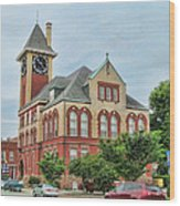 New Bern City Hall Wood Print
