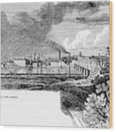 New Brunswick, 1876 Wood Print