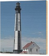New Cape Henry Lighthouse Wood Print