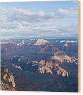 New Day At The Grand Canyon Wood Print
