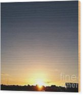 New Day Of Hope Wood Print