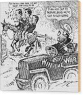 New Deal: Cartoon, 1943 Wood Print