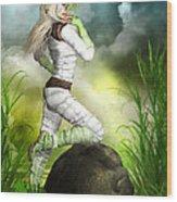 New Earth 3014 Wood Print