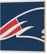New England Patriots Wood Print by Tony Rubino