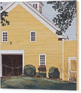 New England Roots Wood Print
