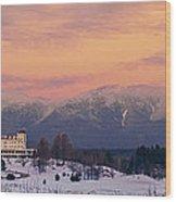 New Hampshires Washingtons Wood Print