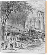 New Jersey Newark, 1876 Wood Print by Granger