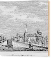 New Jersey Woodbridge Wood Print
