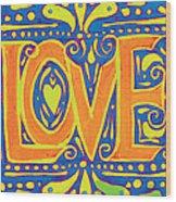 New Love  Wood Print
