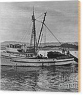 New Marretimo Purse Seiner Monterey Bay Circa 1947 Wood Print