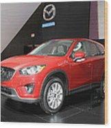 New Mazda Model Wood Print