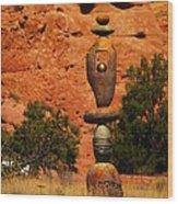 New Mexico Art Wood Print