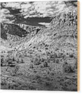 New Mexico Mountains Wood Print