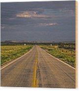 New Mexico Road 10 Wood Print