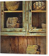 New Mexico Sideboard Wood Print
