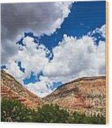 New Mexico Skies 1 Wood Print