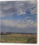 New Mexico Sky Wood Print