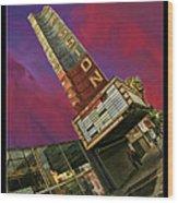 New Mission Theater San Francisco Wood Print