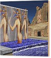 New Monument For The 3 Goddesses Wood Print