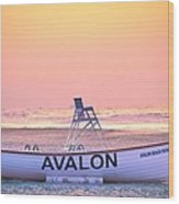 New Morning In Avalon Wood Print