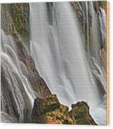 New Navajo Falls Wood Print