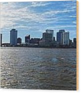 New Orleans - Skyline Of New Orleans Wood Print