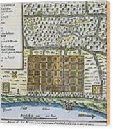New Orleans, 1718-20 Wood Print