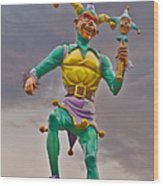 New Orleans - Canal Street Ferry Jester Wood Print by Christine Till